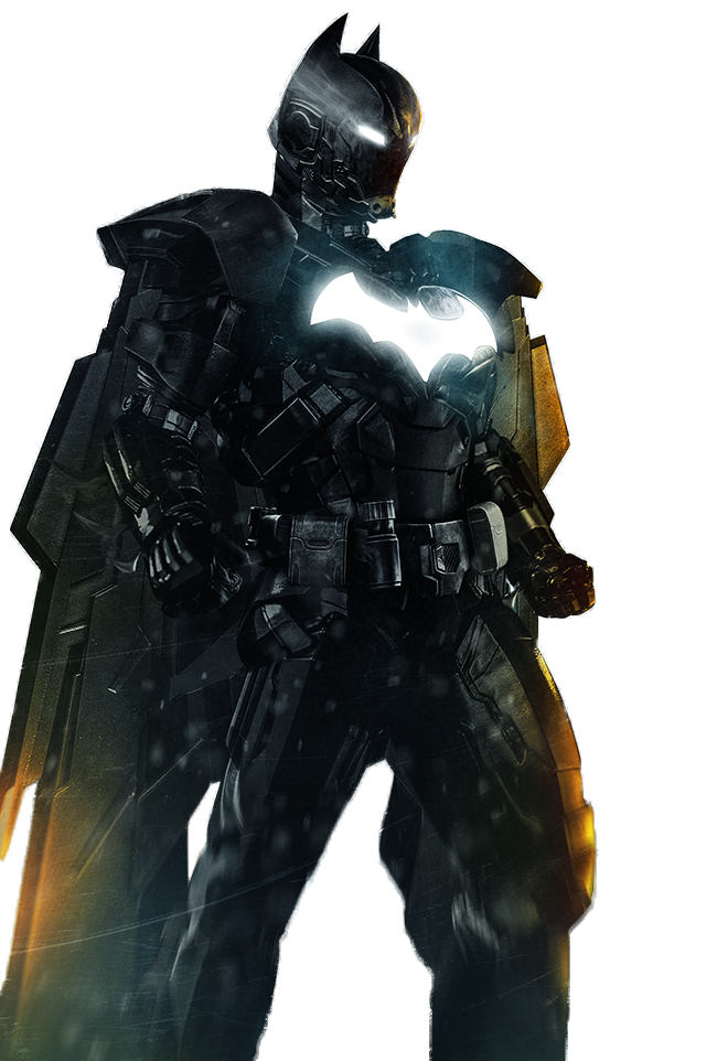 Render Iron Batman
