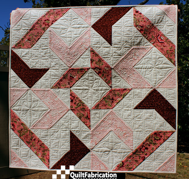 Joy quilt by QuiltFabrication