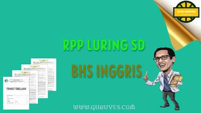 Download RPP Daring Bahasa Inggris Kelas  Download RPP Daring Bahasa Inggris Kelas 5 Semester 2