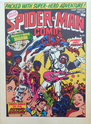 Spider-Man Comic #321, the Hypno-Hustler