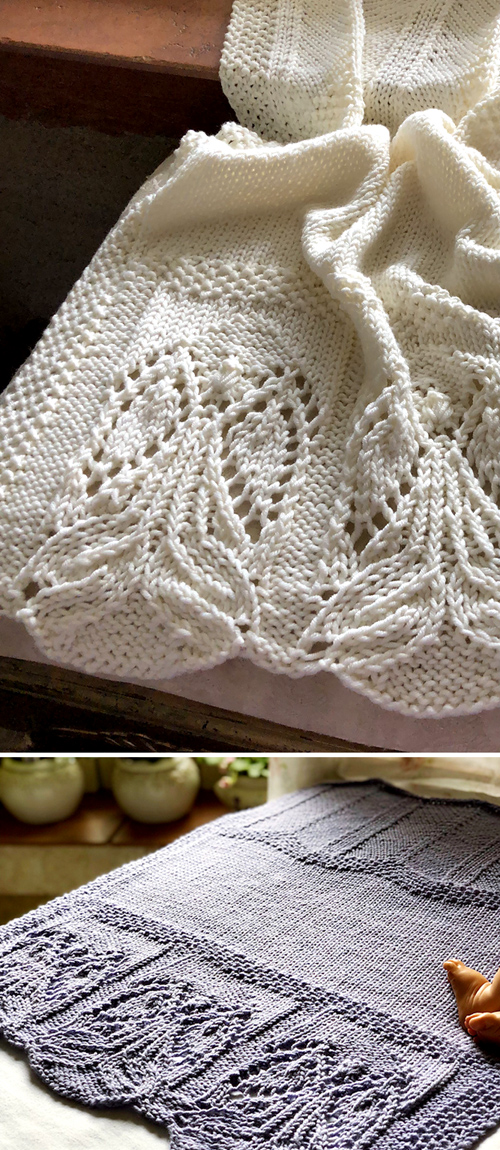 Angels Among Us Blanket - Knitting Pattern