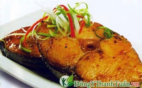 Cá - Thực phẩm tốt cho người đau lưng