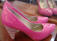 scarpin pink Vizzano tam 37