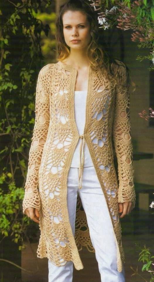 Tapado de verano al crochet de dama