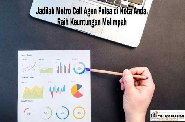 Jadilah Metro Cell Agen Pulsa di Kota Anda, Raih Keuntungan Melimpah