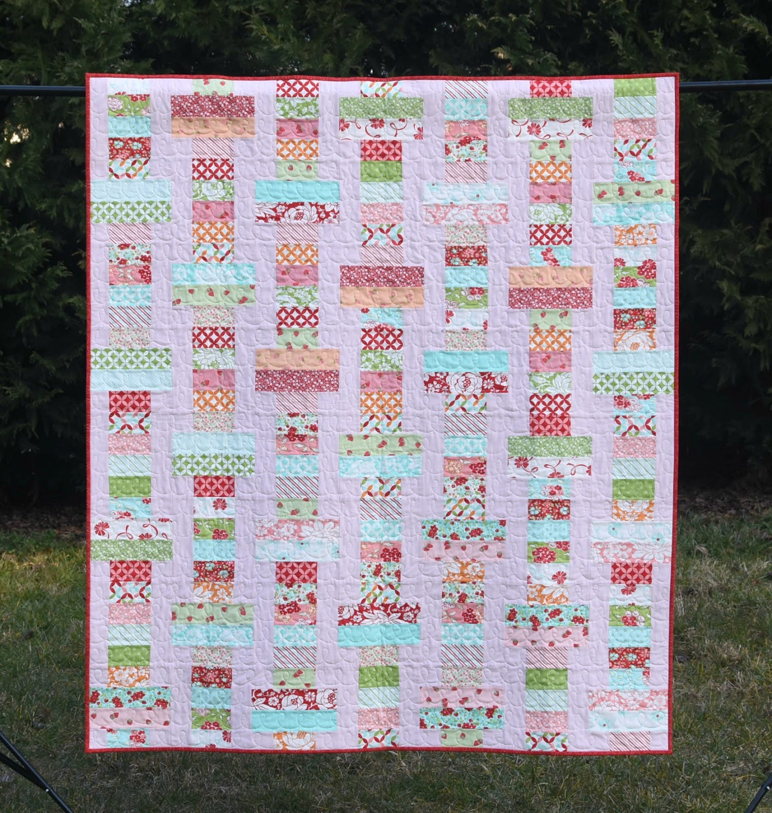Meadow Mist Designs Jelly Slice Quilt With The Fat Quarter Shop