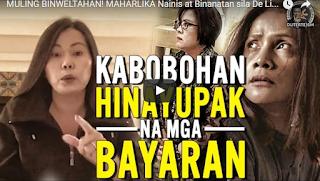 WATCH: MAHARLIKA Nainis at Binanatan sila De Lima at ibang KULTONG DILAW na Bayaran!