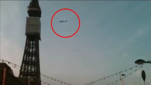 Blackpool Tower UFO Sightings Footage.