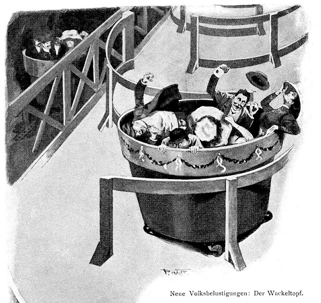 the Wackeltopf amusement ride 1910