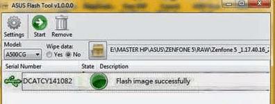 flash asus zenfone 5 via flash tools
