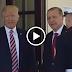 Trump, Cumhurbaşkanı Erdoğan'ı böyle karşıladı.