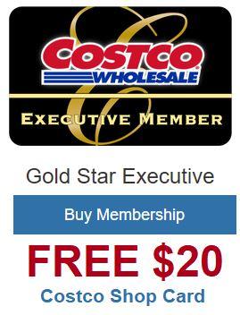 Get a $20 Costco Shop Card.