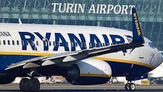 Base Ryanair a Torino