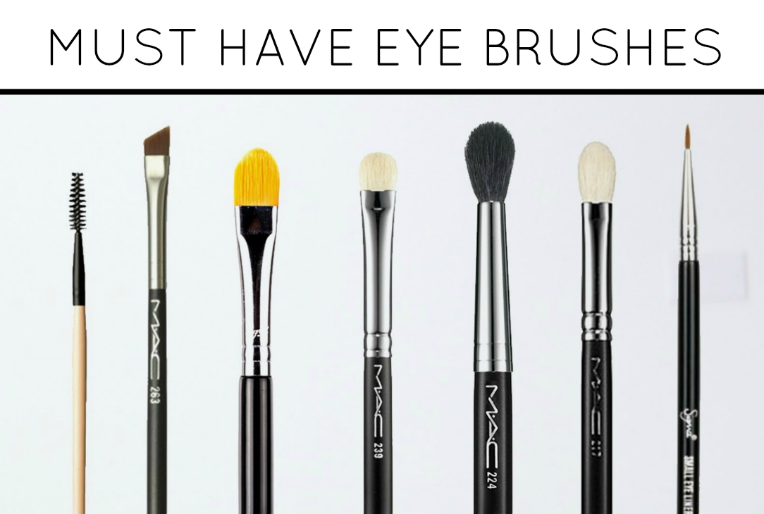 Must have eye makeup brushes