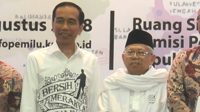 Habib Rizieq Minta Umat Jaga Ma'ruf Amin dari 'Politik' Jokowi