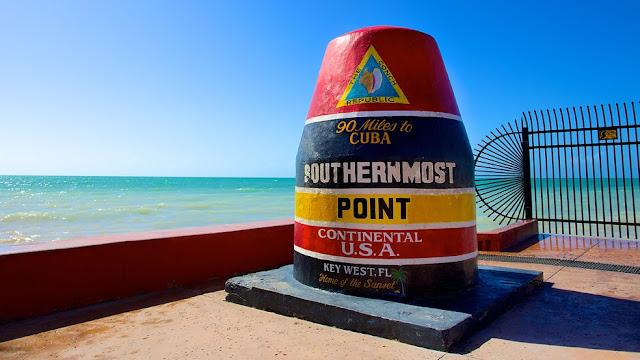 Museus e farol em Key West