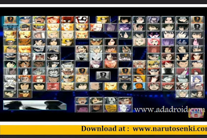 Naruto MUGEN Mod Apk for Android with 130+ Characters by Kizuma Gaming