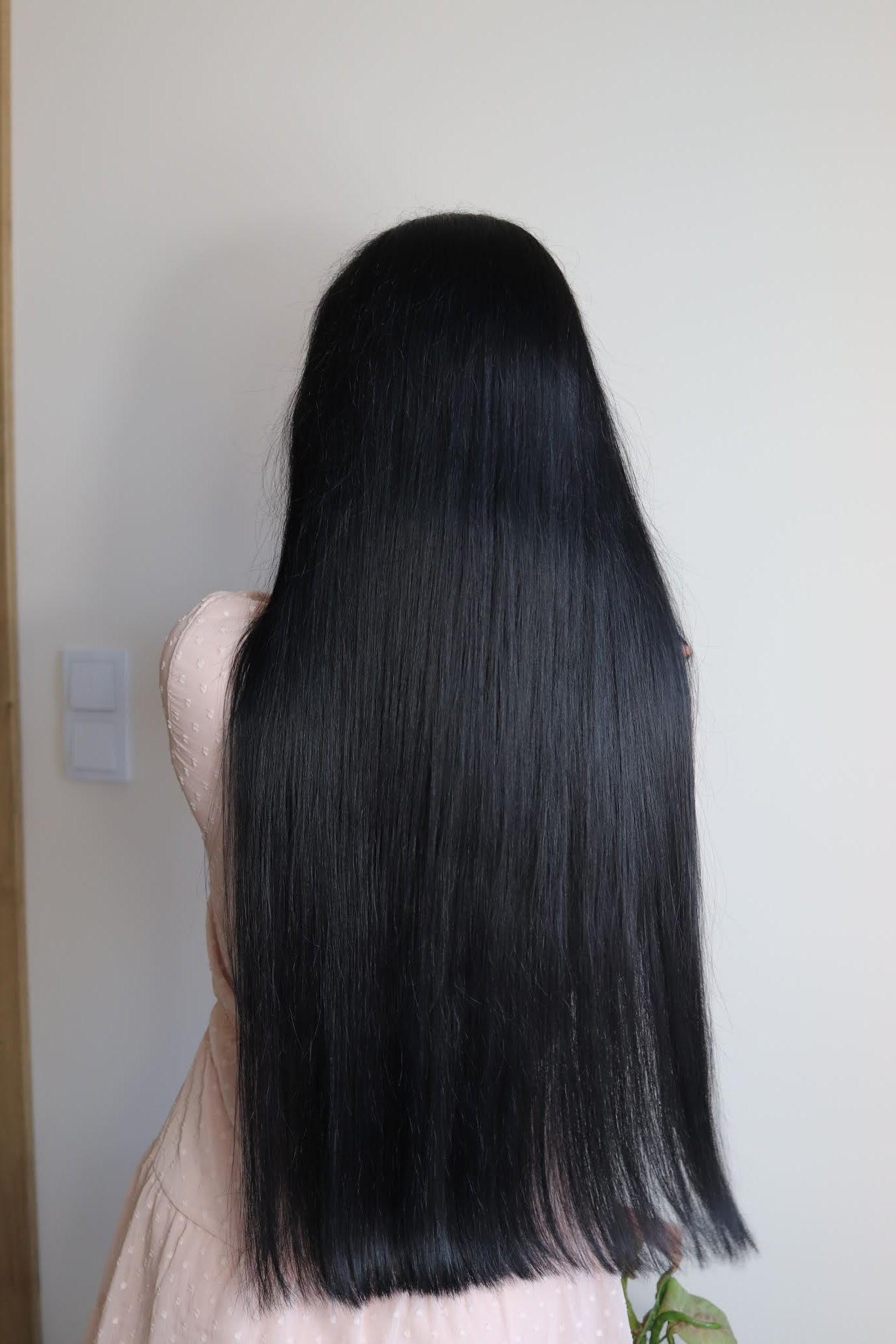 włosy po farbowaniu ziołami