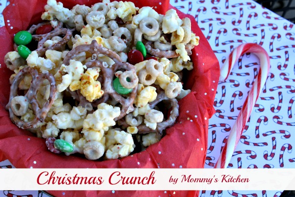 christmas crunch also fits perfectly into a christmas tin with pretty tissue paper if youre looking for a last minute treat idea i think youll love this