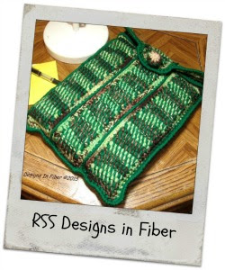 Protective Laptop Sleeve in Earthy Colors - By Ruth Sandra Sperling - RSS Designs In Fiber