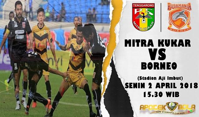 Prediksi Mitra Kukar vs Borneo 2 April 2018