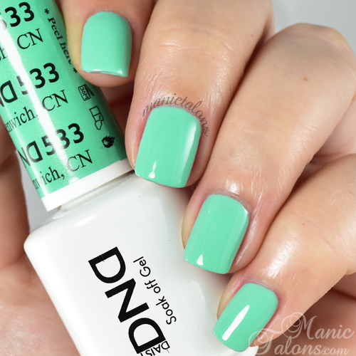Daisy Duo Gel Polish Greenwich, CN Swatch