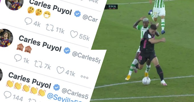 'We have to do very well': Puyol reacts to Real Madrid's controversial win over Betis