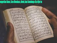 Pengertian Hams, Cara Membaca, Huruf, dan Contohnya di al-Qur'an