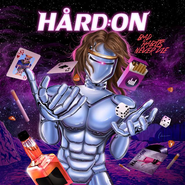 "Hård:On - ""Bad Habits Never Die"" (São Paulo)(Nacional - 2019) (Shinigami Records)"