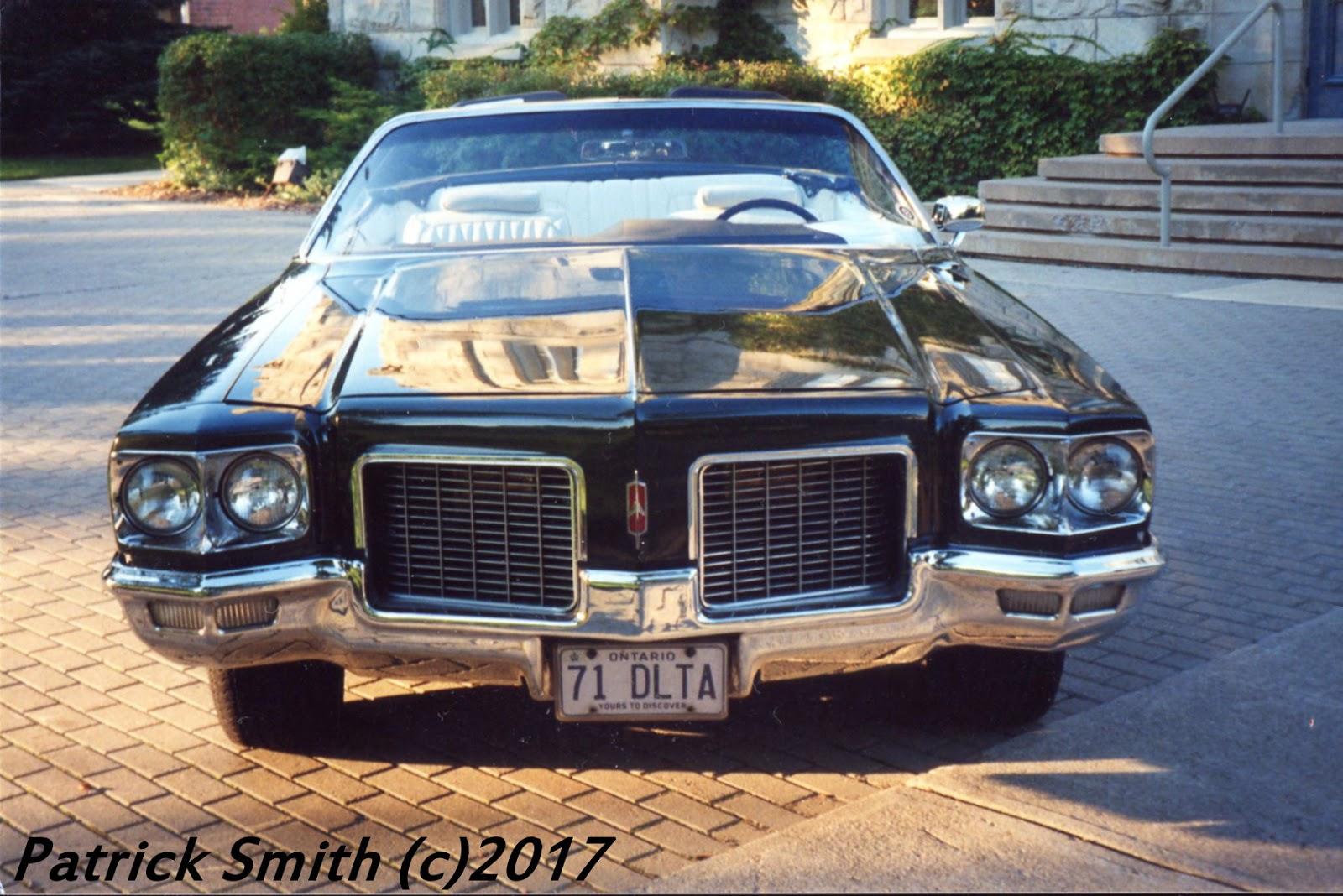 1971 Oldsmobile Delta 88 Convertible Phscollectorcarworld 1960 Pontiac Catalina Wiring Diagrams