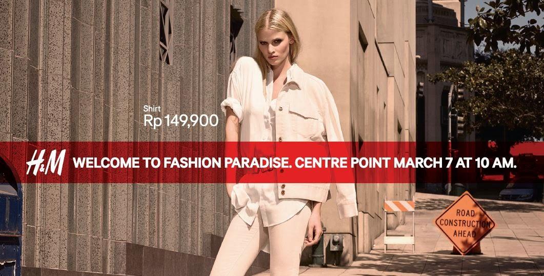 H&M Indonesia Hadir di Medan 2015