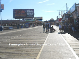 The Beautiful Wildwood Boardwalk in New Jersey