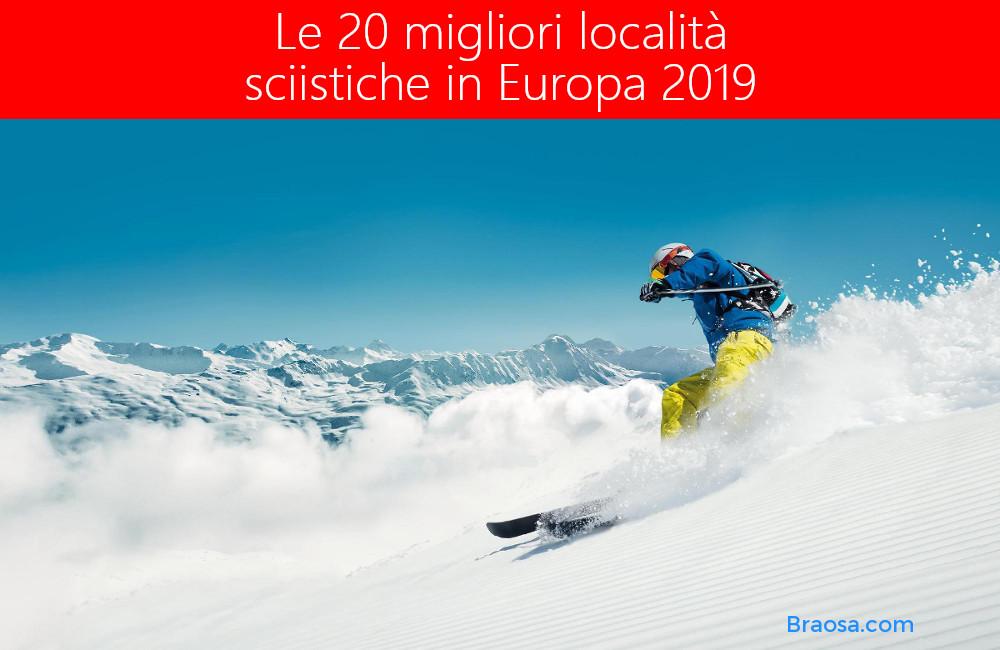 Le 20 migliori mete invernali per fare sci e snowboard in Europa nel 2021