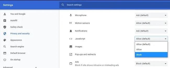 كيفية نسخ نص من موقع محظور في Chrome One Site