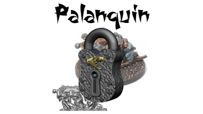 If unlocked, the Palanquin will be added to the Champion pack, cast from lead-free pewter, supplied unpainted and without a base.
