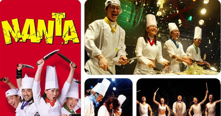 Tourist Attraction: Nanta Show, Entertainment Things With Kitchen  Appliances (Seoul, Korea)