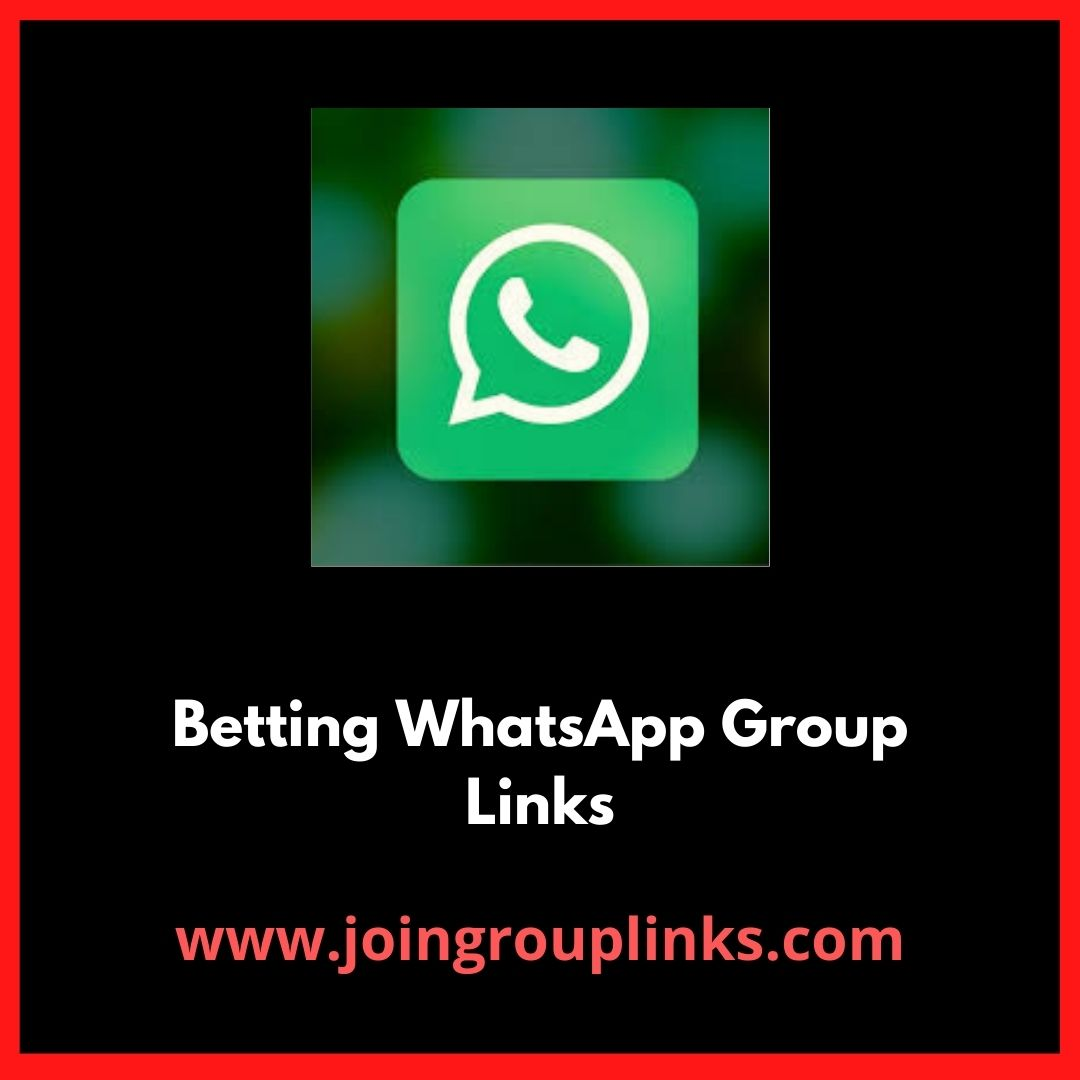 Whatsapp sports betting group bb betting ballymahon vocational schools