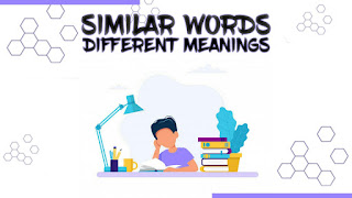 Same Words Different Meanings