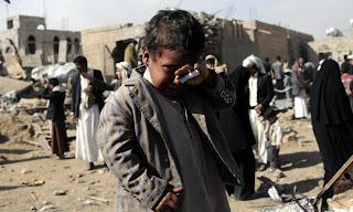 Anak-Anak Ikut Jadi Korban Syiah Houthi di Yaman