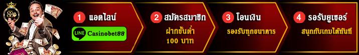 Casinobet88 คาสิโนออนไลน์อันดับ 1