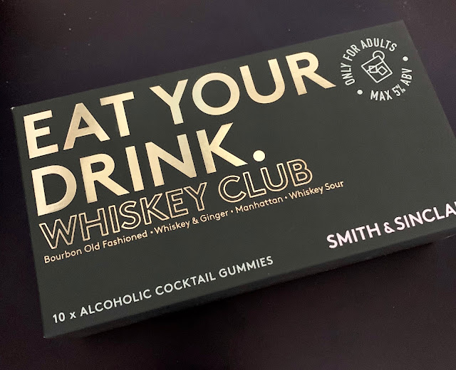 alcoholic whiskey sweets in box