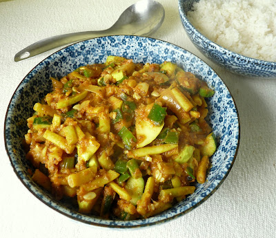 Bean & Zucchini Curry