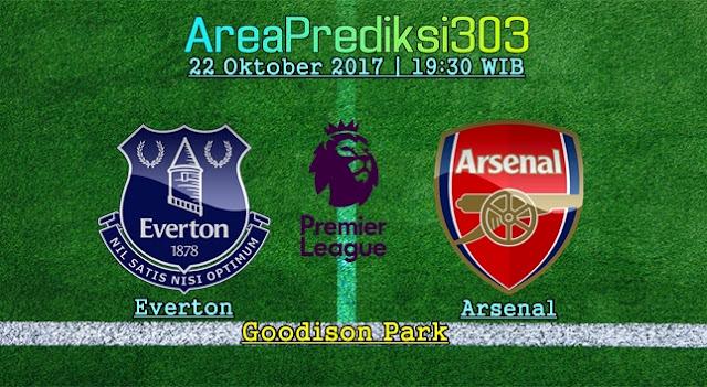 Prediksi Jitu Everton vs Arsenal 22 Oktober 2017