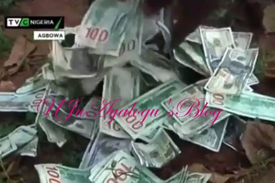 Drama as Man is Caught Red-Handed With 88 Bundles of Fake $100 in Minna
