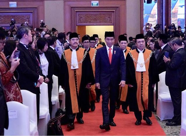 Presiden Dukung Langkah MA untuk Wujudkan Peradilan Bersih, Adil, dan Bermartabat