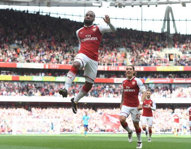 Liga Inggris: Arsenal Bungkam Bournemouth dengan skor 3 goll tanpa balas!!!