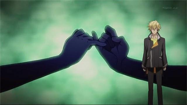 Berjanji akan melakukan yang terbaik - anime NTR