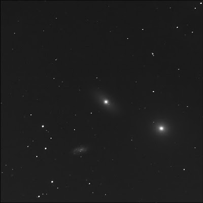 RASC Finest galaxy NGC 3384 with friends in luminance