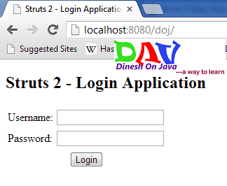 Struts 2 Database Access
