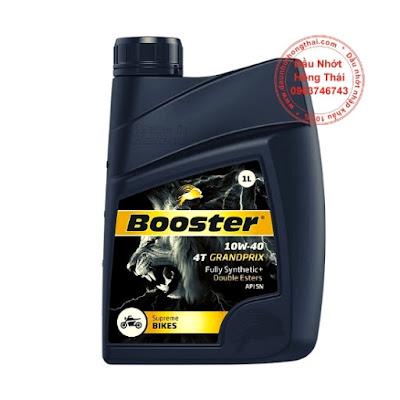 Booster 4T GrandPrix 10W40 SN/MA2